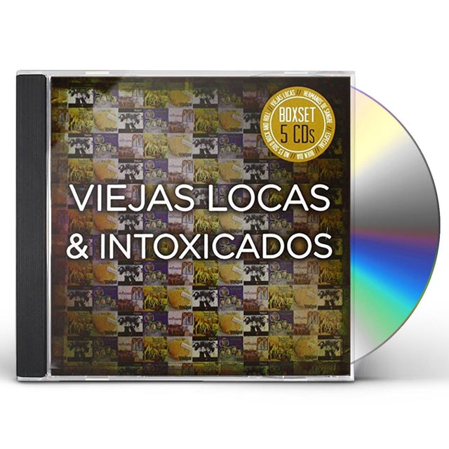 Viejas Locas BOXSET 5CDS CD