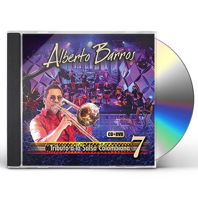Alberto Barros TRIBUTO A LA SALSA COLOMBIANA VOL 7 CD