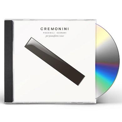 Cesare Cremonini POSSIBILI SCENARI PER PIANOFORTE E VOCE CD