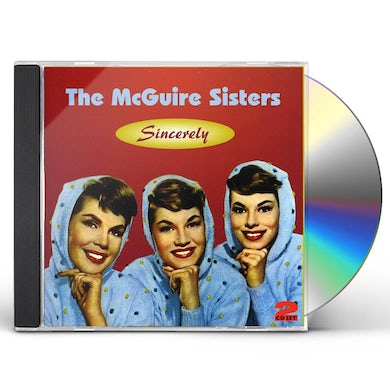 Mcguire Sisters SINCERELY CD