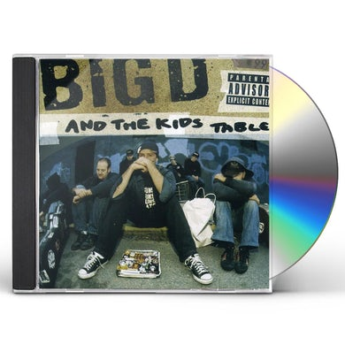 BIG D & KID'S TABLE HOW IT GOES CD