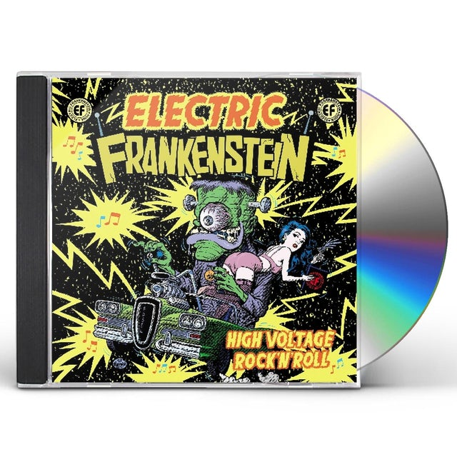 Electric Frankenstein HIGH VOLTAGE ROCK & ROLL: BEST OF ELECTRIC CD