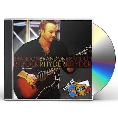 Brandon Rhyder LIVE AT BILLY BOB'S TEXAS CD