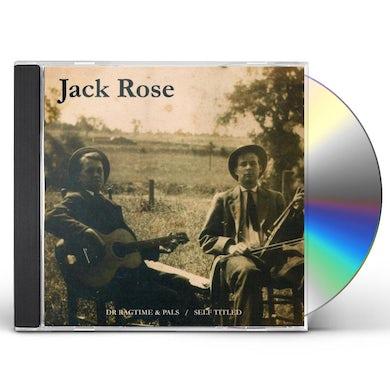 DR RAGTIME & PALS / JACK ROSE CD
