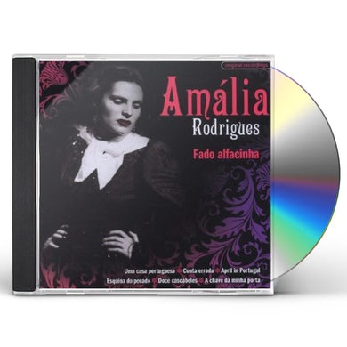 Amalia Rodrigues FADO ALFACINHA CD