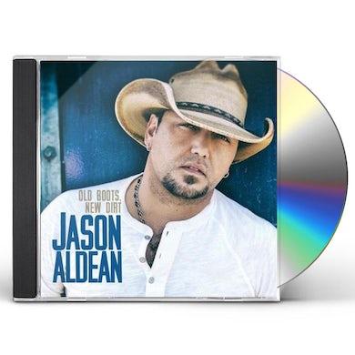Jason Aldean Old Boots New Dirt CD