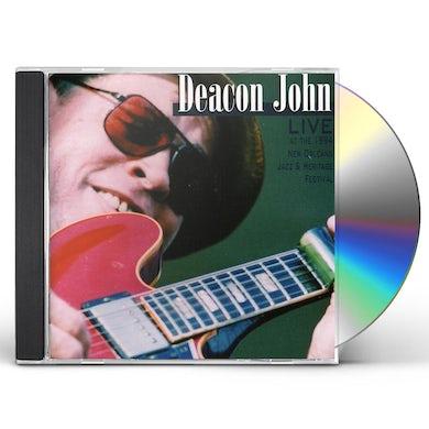 Deacon John LIVE AT 1994 NEW ORLEANS JAZZ & HERITAGE FESTIVAL CD
