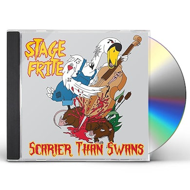 SCARIER THAN SWANS CD