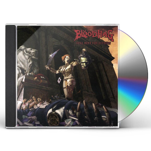 Bloodhag HELL BENT FOR LETTERS CD