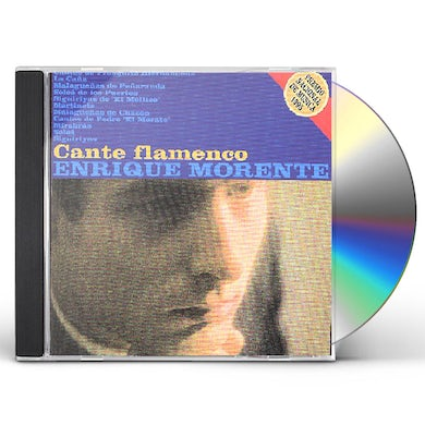 Enrique Morente CANTE FLAMENCO CD