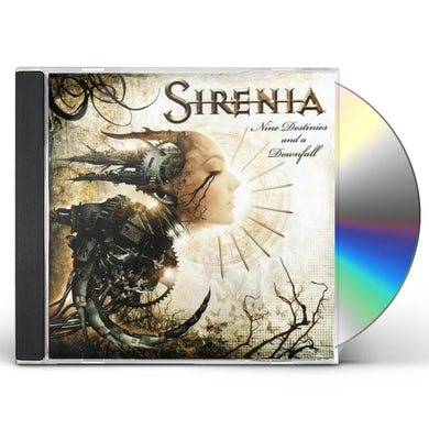 Sirenia NINE DESTINIES & A DOWNFALL CD