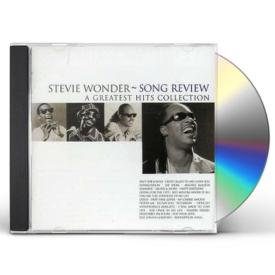 Stevie Wonder  SONG REVIEW: GREATEST HITS COLLECTION CD