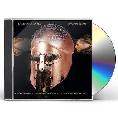 Tangerine Dream KNIGHTS OF ASHEVILLE: LIVE AT MOOGFEST - ASHEVILLE CD