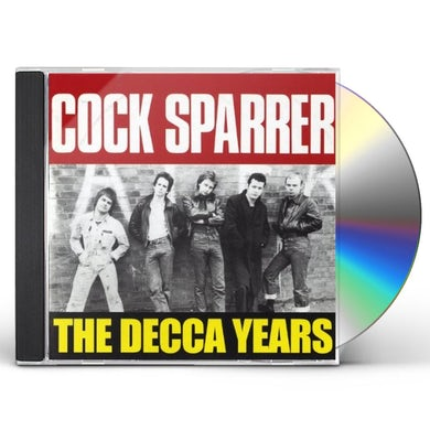 Cock Sparrer DECCA YEARS CD