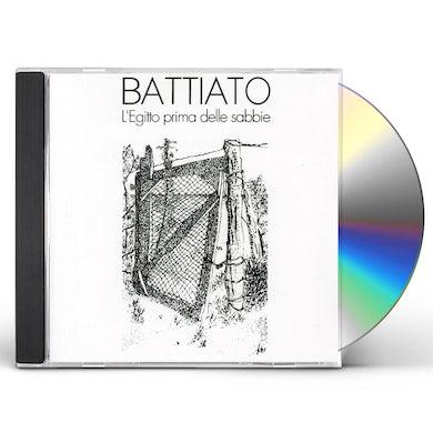 Franco Battiato LEGITTO PRIMA DELLE SABBIE CD