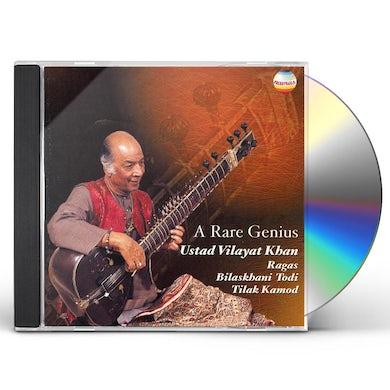 Vilayat Khan RARE GENIUS CD