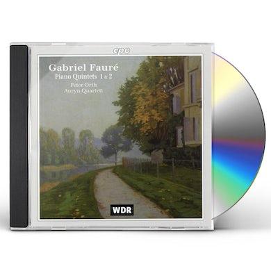 Faure PIANO QUINTETS CD