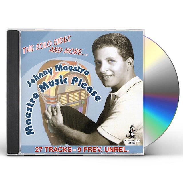 Johnny Maestro MAESTRO MUSIC PLEASE 27 CUTS CD