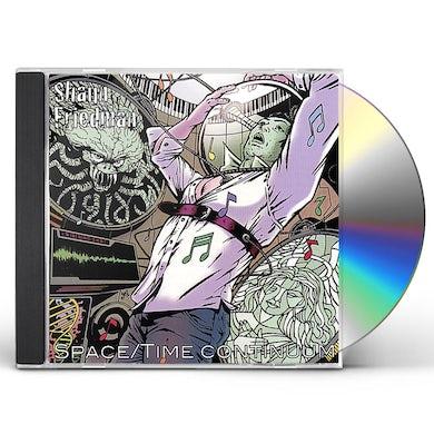 Shaun Friedman SPACE/TIME CONTINUUM CD