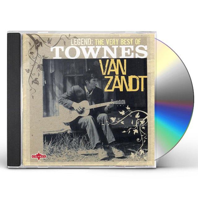 Townes Van Zandt LEGEND: VERY BEST OF CD