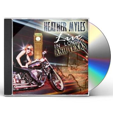 Heather Myles LIVE IN LONDON & TEXAS CD