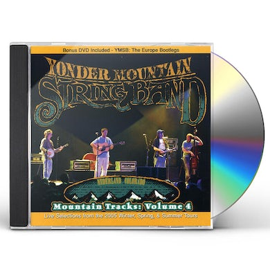 Yonder Mountain String Band MOUNTAIN TRACKS 4 CD