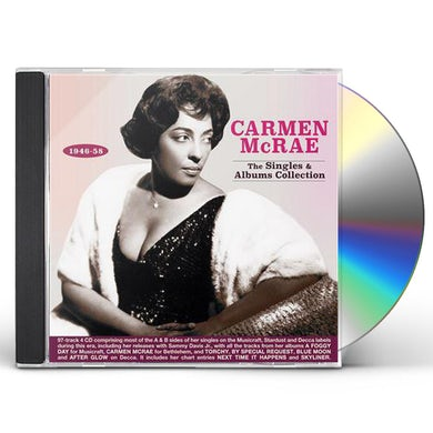 Carmen McRae SINGLES & ALBUMS COLLECTION 1946-58 CD