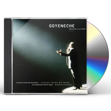 Roberto Goyeneche GRACIAS A LA VIDA CD