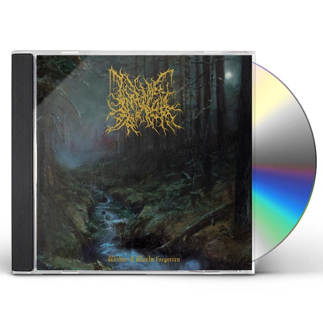 Infernal Coil WITHIN A WORLD FORGOTTEN CD