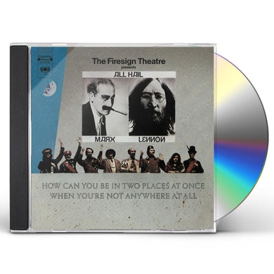 Firesign Theatre HOW CAN YOU BE IN TWO PLACES AT ONCE WHEN YOU'RE CD