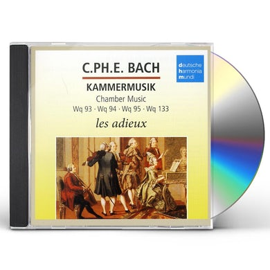 Andreas Staier BACH C.P.E: CHAMBER MUSIC CD