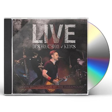 Devin Williams DESTRUCTION OF KINGS: LIVE AT THE PARAMOUNT CD