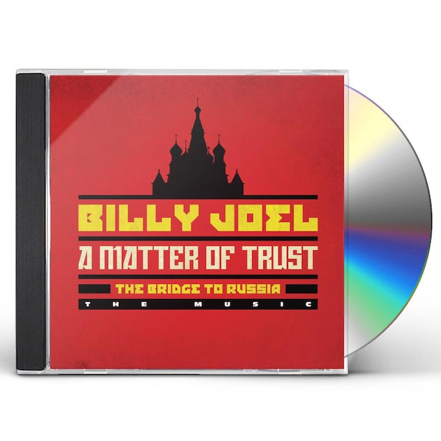 Billy Joel MATTER OF TRUST: THE BRIDGE TO RUSSIA - THE MUSIC CD