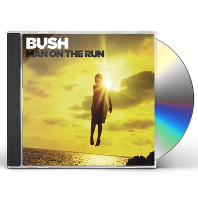 Bush MAN ON THE RUN CD