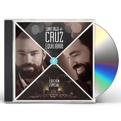 Santiago Cruz EQUILIBRIO (EDICION ESPECIAL) CD