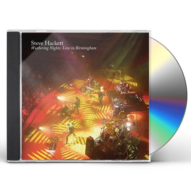 Steve Hackett WUTHERING NIGHTS: LIVE IN BIRMINGHAM CD