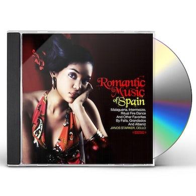 ROMANTIC MUSIC OF SPAIN CD