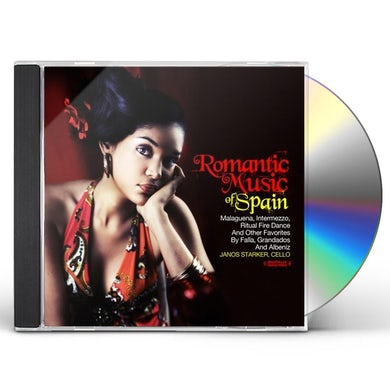 Janos Starker ROMANTIC MUSIC OF SPAIN CD