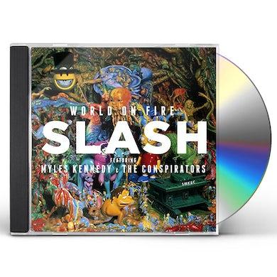 Slash WORLD ON FIRE CD