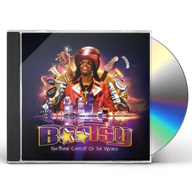 Bootsy Collins THA FUNK CAPITOL OF THE WORLD CD