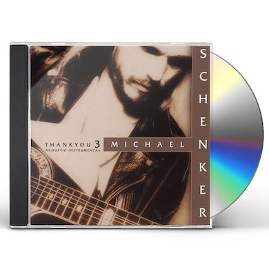 The Michael Schenker Group THANK YOU 3 CD