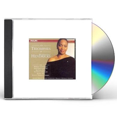LES TRIOMPHES DE BARBARA HENDRICKS CD
