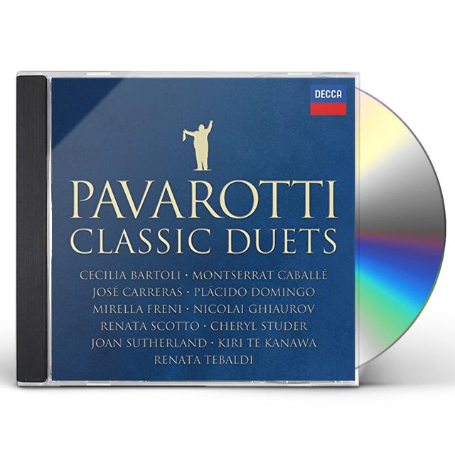 Luciano Pavarotti CLASSIC DUETS CD