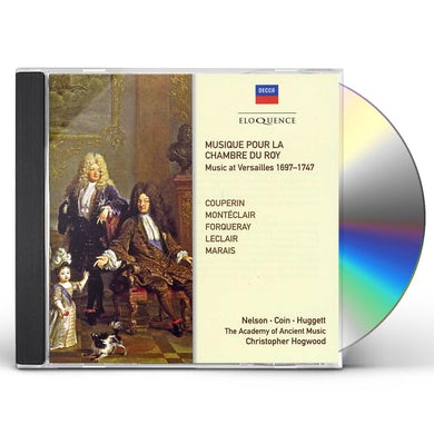 Christopher Hogwood MUSIQUE POUR LA CHAMBRE DU ROY CD