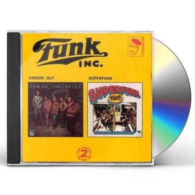 Funk Inc HANGIN' OUT/SUPERFUNK CD