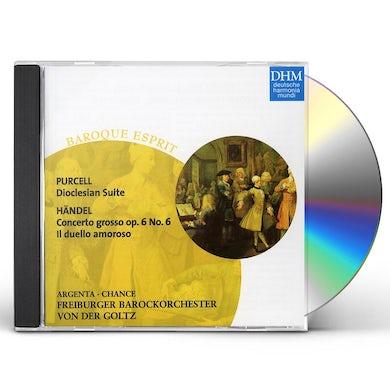 Freiburger Barockorchester PURCELL,HANDEL: SUITE: CONCERTO CD