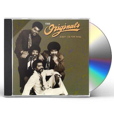 Originals BABY I'M FOR REAL CD