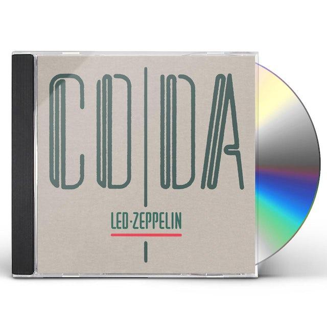 Led Zeppelin CODA CD