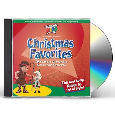 Cedarmont Kids CLASSICS: CHRISTMAS FAVORITES CD