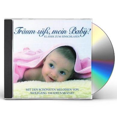W.A. Mozart TRAUM SUB MEIN BABYKLASSIK ZUM EINSCHLAFEN 3 CD